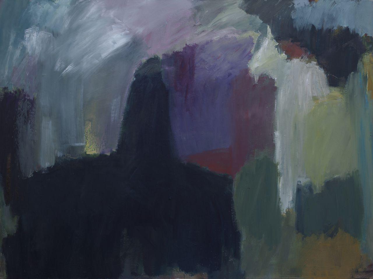 Erika Laesser-Rotter, Malerei, Winter, Oel/Leinwand, 135/175 cm, 2018