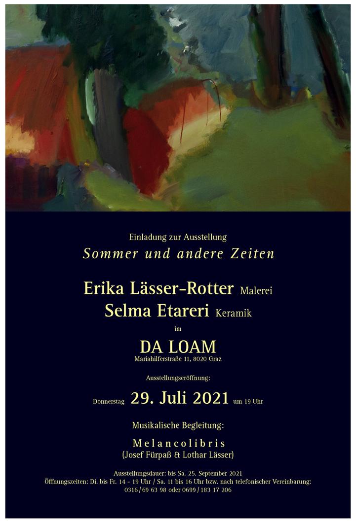 Ausstellung Sommer und andere Zeiten